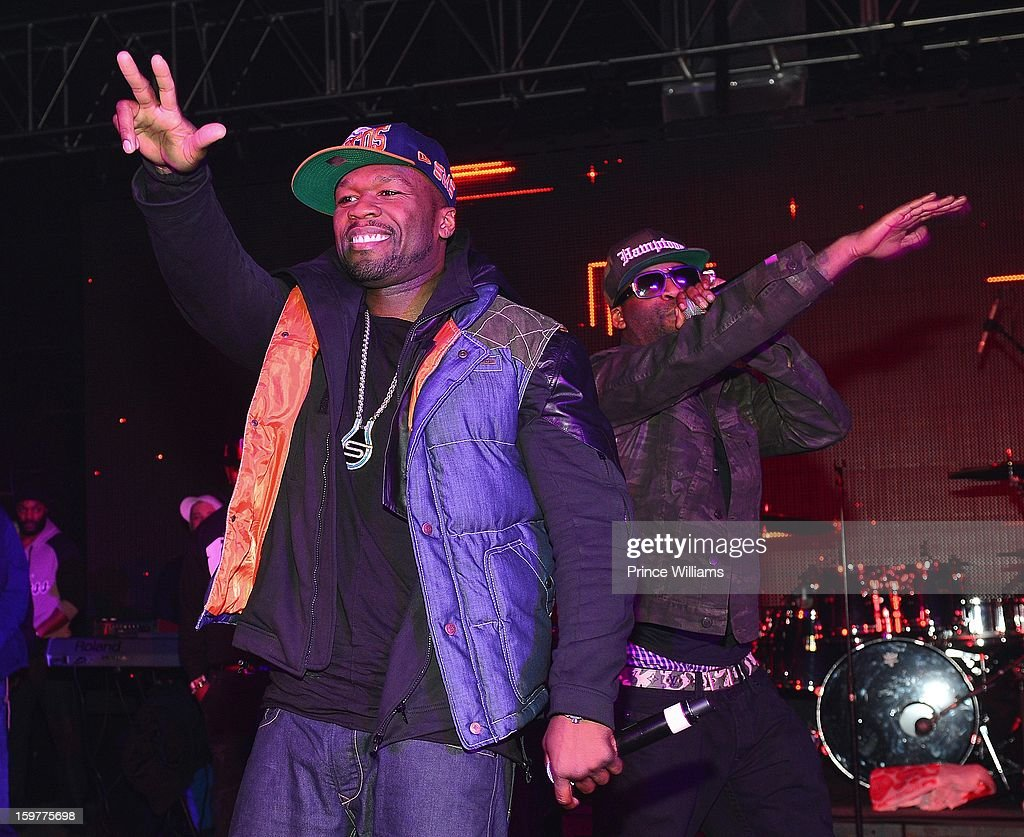 <a gi-track='captionPersonalityLinkClicked' href=/galleries/search?phrase=50+Cent+-+Rapper&family=editorial&specificpeople=215363 ng-click='$event.stopPropagation()'>50 Cent</a> and <a gi-track='captionPersonalityLinkClicked' href=/galleries/search?phrase=Tony+Yayo&family=editorial&specificpeople=2179224 ng-click='$event.stopPropagation()'>Tony Yayo</a> perform at the AG Entertainment Presents Jeezy Inauguration Weekend on January 20, 2013 in Washington, United States.