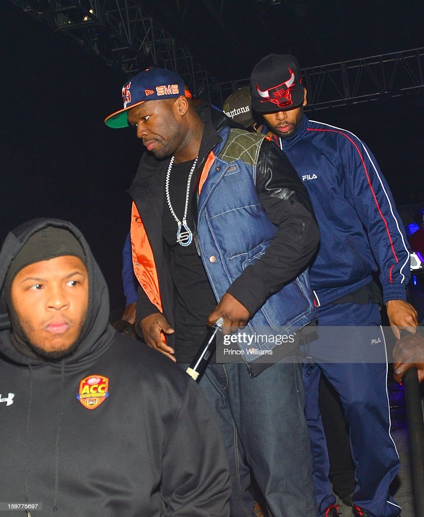 50 Cent attends AG Entertainment Presents Jeezy Inauguration Weekend on January 20, 2013 in Washington, United States.