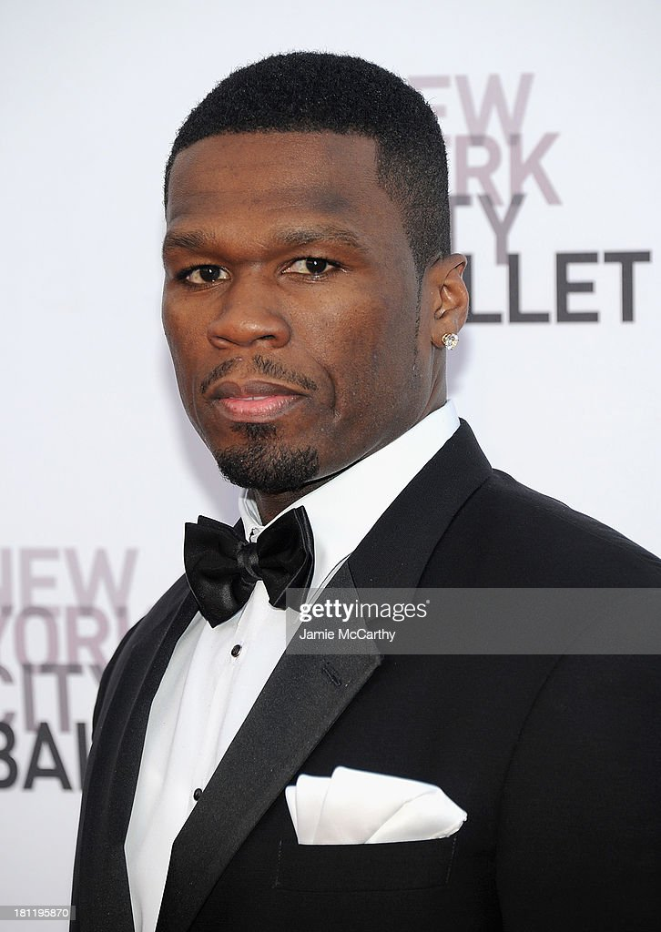 <a gi-track='captionPersonalityLinkClicked' href=/galleries/search?phrase=50+Cent+-+Rapper&family=editorial&specificpeople=215363 ng-click='$event.stopPropagation()'>50 Cent</a> attends New York City Ballet 2013 Fall Gala at David H. Koch Theater, Lincoln Center on September 19, 2013 in New York City.