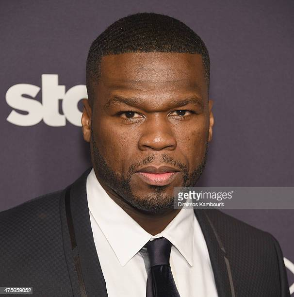 Cent attends 'Power' Season Two Series Premiere at Best Buy Theater on June 2 2015 in New York City