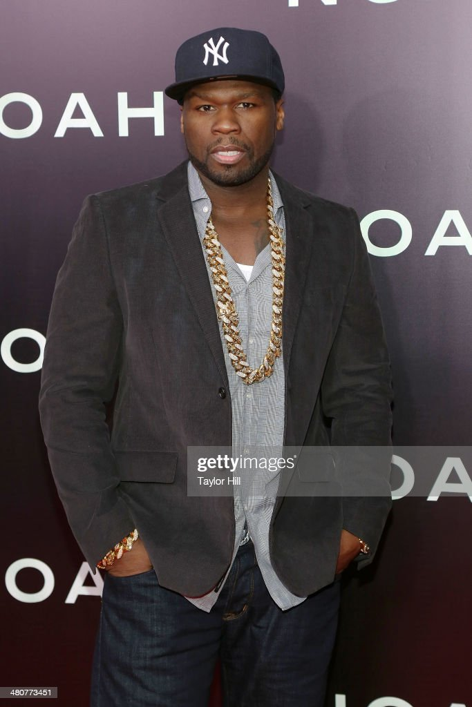 <a gi-track='captionPersonalityLinkClicked' href=/galleries/search?phrase=50+Cent+-+Rapper&family=editorial&specificpeople=215363 ng-click='$event.stopPropagation()'>50 Cent</a> attends the 'Noah' premiere at Ziegfeld Theatre on March 26, 2014 in New York City.