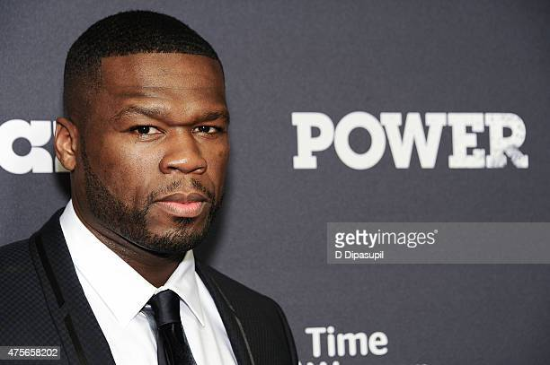 Cent attends the 'Power' Season Two Series Premiere at Best Buy Theater on June 2 2015 in New York City