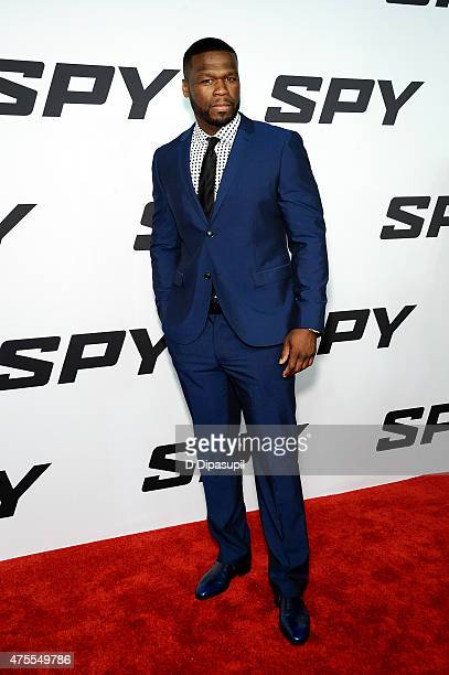 Cent attends the 'Spy' New York Premiere at AMC Loews Lincoln Square on June 1 2015 in New York City