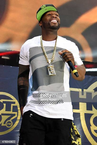 Cent performs during 2015 Hot 97 Summer Jam at MetLife Stadium on June 7 in East Rutherford New Jersey