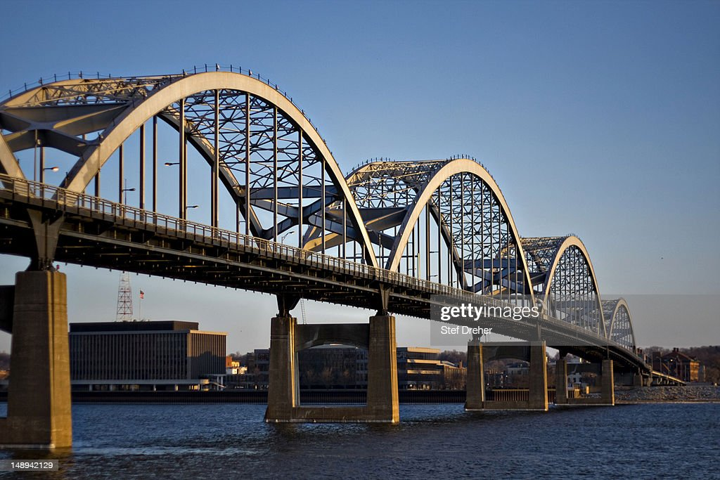 Centennial Bridge, Davenport Iowa