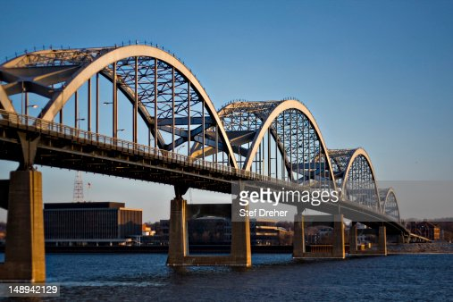 Centennial Bridge, Davenport Iowa