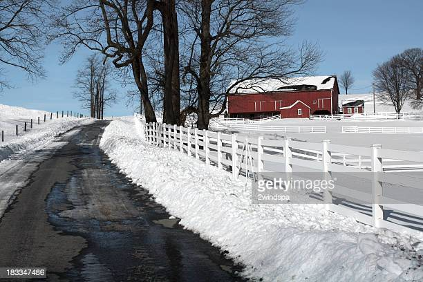 Centennial Farm in Winter