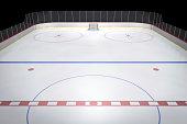 Center Ice Hockey Rink
