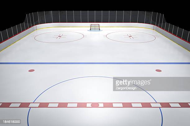 Center, patinoire de Hockey sur glace