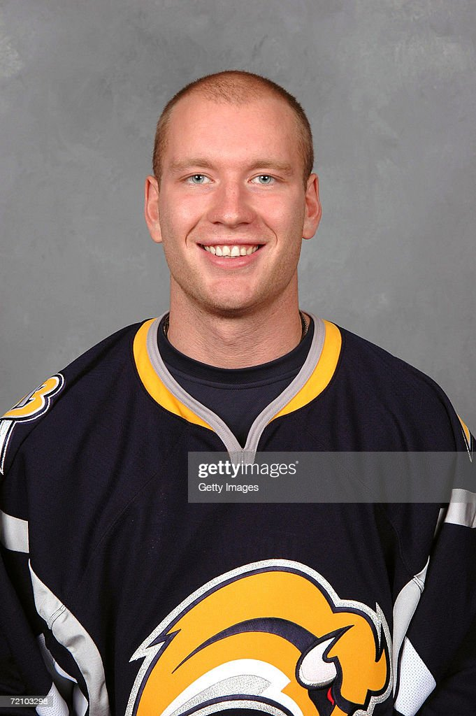Center Jiri Novotny #13 of the NHL Buffalo Sabres poses for a portrait at HSBC Arena on September 14, 2006 in Buffalo, New York.