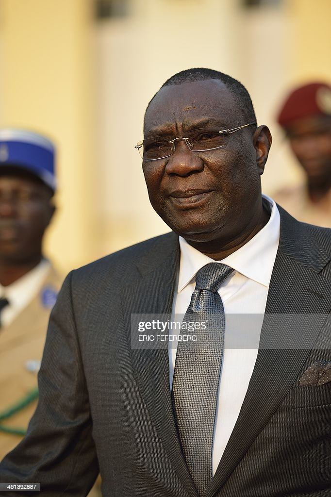 Central African president <a gi-track='captionPersonalityLinkClicked' href=/galleries/search?phrase=Michel+Djotodia&family=editorial&specificpeople=10107290 ng-click='$event.stopPropagation()'>Michel Djotodia</a> arrives at Mpoko Bangui airport on his way to N'Djamena to attend a summit on the unrest in Centrafrica on January 8, 2014. African leaders are to meet in Chad Thursday to discuss the future of Central African Republic President <a gi-track='captionPersonalityLinkClicked' href=/galleries/search?phrase=Michel+Djotodia&family=editorial&specificpeople=10107290 ng-click='$event.stopPropagation()'>Michel Djotodia</a>, in a bid to end the sectarian violence ripping the country apart. No official agenda has been drawn up for the summit called by Chadian President Idriss Deby Itno of ten countries making up the Economic Community of Central African States (CEEAC).