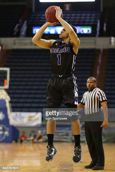 Central Arkansas Bears guard Jordan Howard shoots the ball during a game between Central Arkansas and New Orleans on February 18 2017 at Lakefront...
