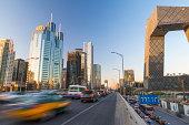Central Business District at Dusk, Beijing