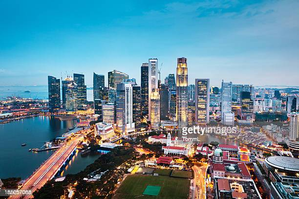 Central Business District di Singapore città