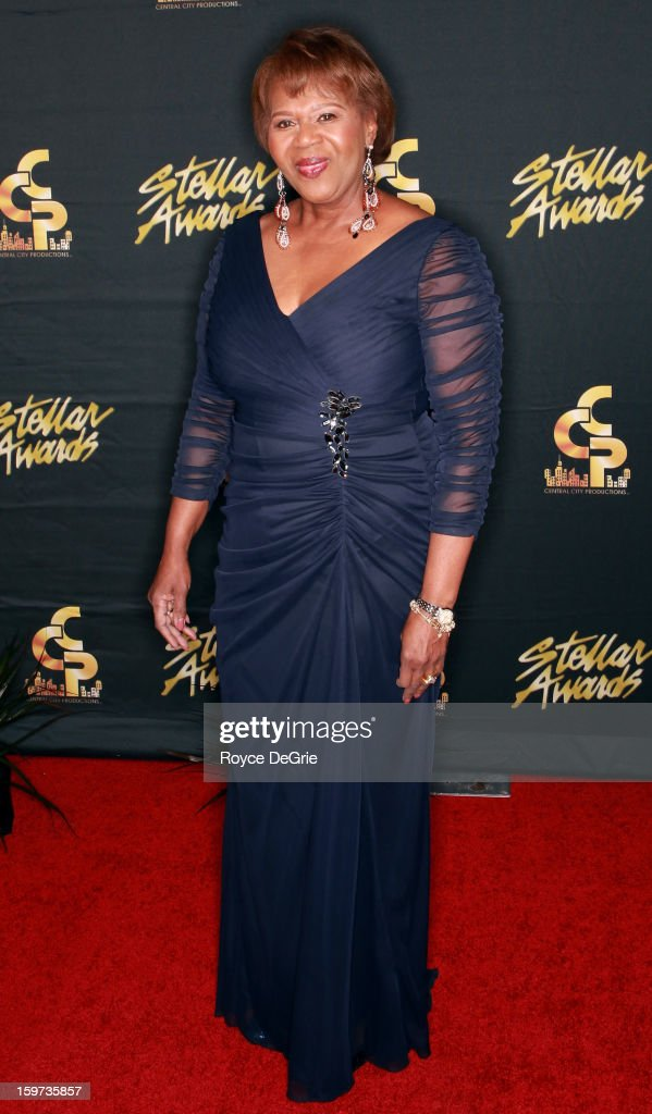 Central City Productions President & COO Erma Davis arrives to the 28th Annual Stellar Awards at Grand Ole Opry House on January 19, 2013 in Nashville, Tennessee.
