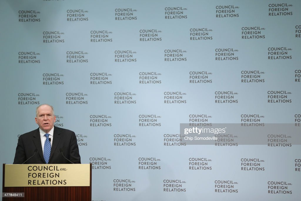 CIA Director John Brennan Speaks At The Council On Foreign Relations