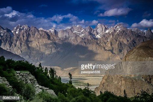 Central Karakorum National Park : Stock Photo