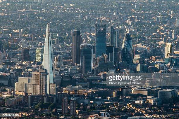 Central London from the air