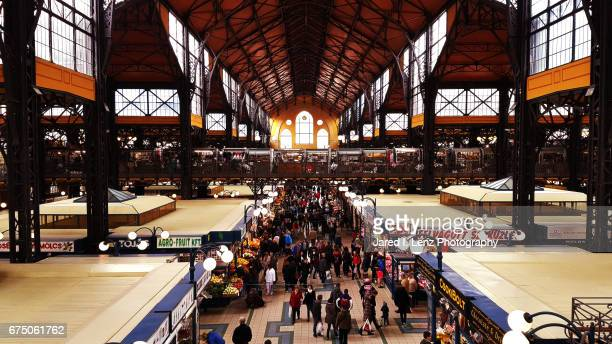 Central (or Great) Market Hall (Große Markthalle) - Budapest