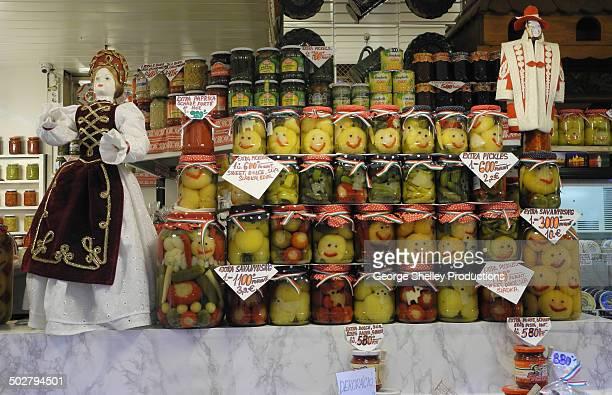 Central Market pickled fruits