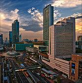 Central of Jakarta city