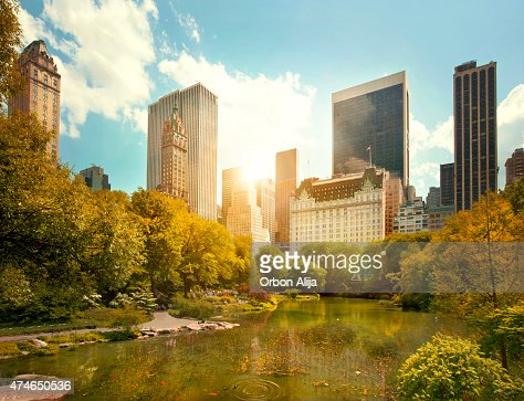 Central Park and Midtown Manhattan, NYC