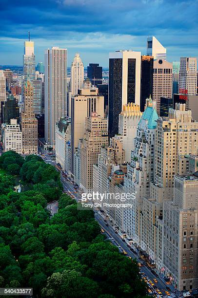 Central Park and Midtown New York
