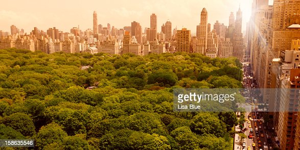 Central Park at Sunset