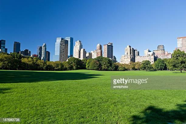 マンハッタンニューヨークのセントラルパーク