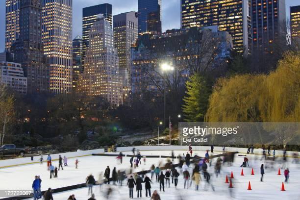Central Park skating rink # 1