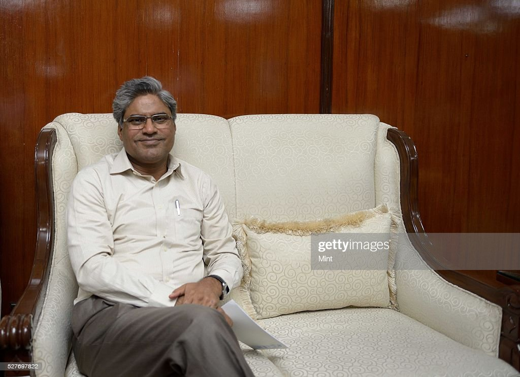 Central PF Commissioner KK Jalan poses for a profile shoot on September 9, 2015 in New Delhi, India.