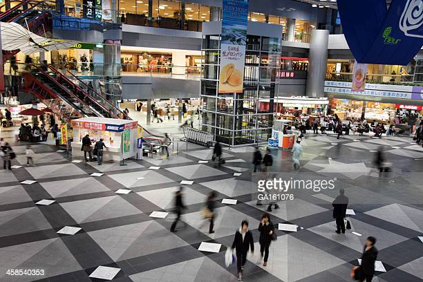 Central Plaza of New Chitose Airport Terminal