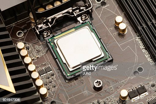 Central processing unit. CPU : Stock Photo