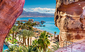 Eilat is a serene location that is a very popular tropical getaway for Israeli and European tourists.