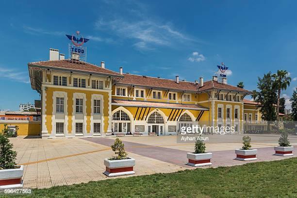Central railroad station in Adana,Turkey