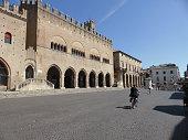Central square in Rimini