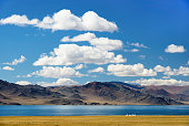 Central-Asian landscape, Mongolia