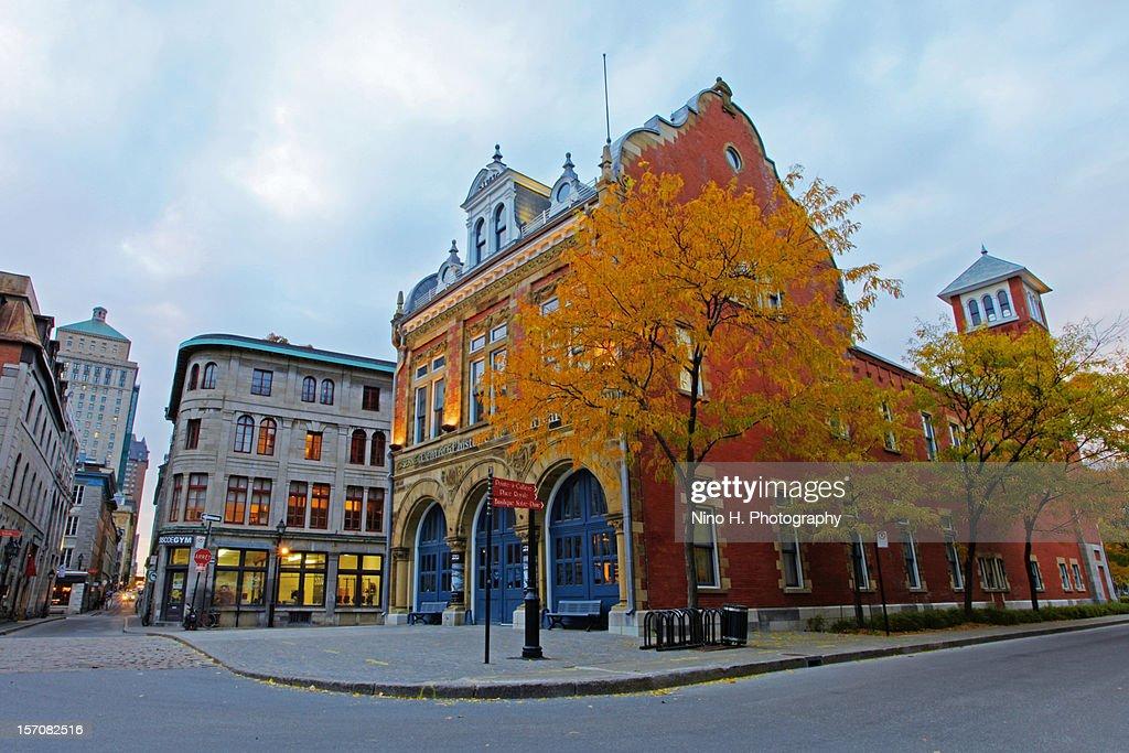 Centre d'histoire de Montréal - Old Montreal : Stock Photo