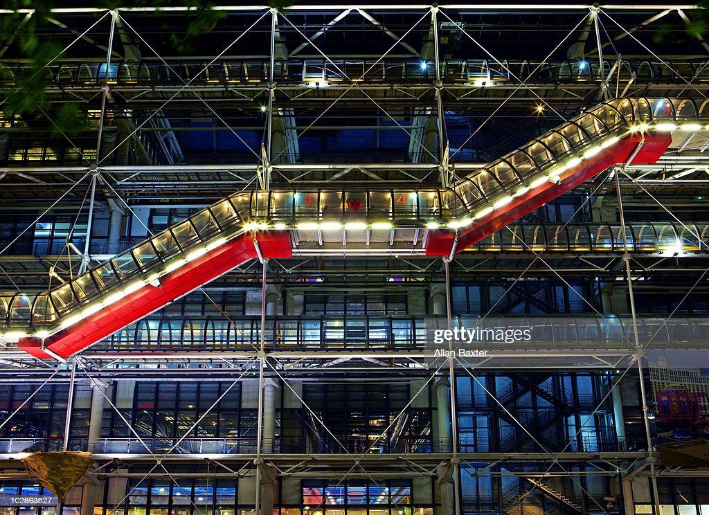Centre Georges Pompidou, close-up.