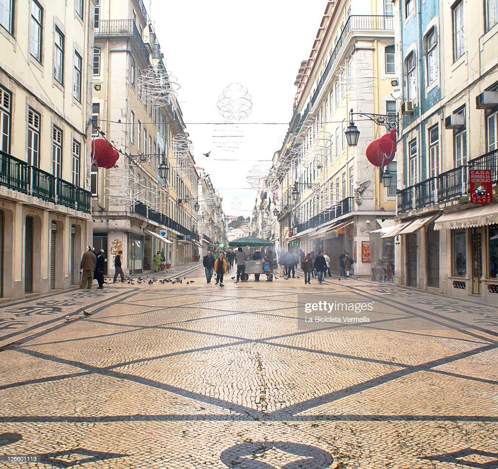 Centre of Lisbon : Stock Photo