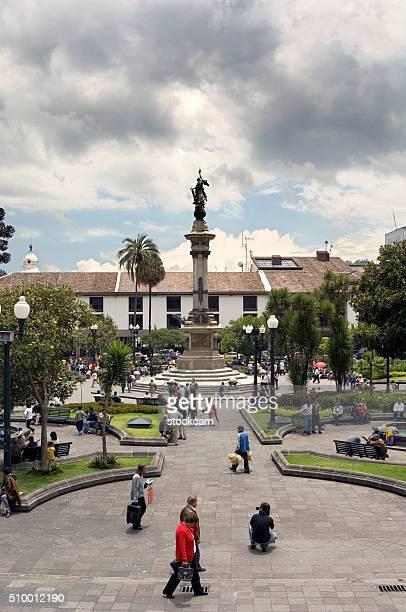 Centro Plaza Plaza Grande, Quito, Ecuador