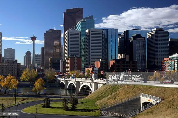 Centre Street Bridge, downtown, Calgary, Alberta