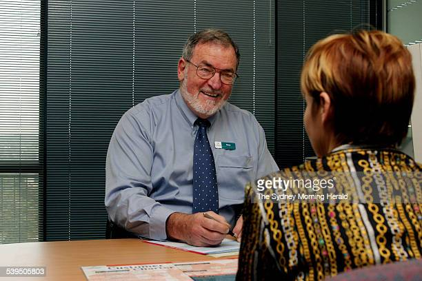 Centrelink employee Gary Cizinner 28 August 2004 SMH Picture by DOMINO POSTIGLIONE