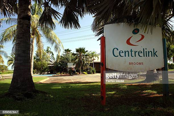 Centrelink in Broome unemployment jobs employee employer trees western australia 18 January 2005 AFR Picture by PETER BRAIG