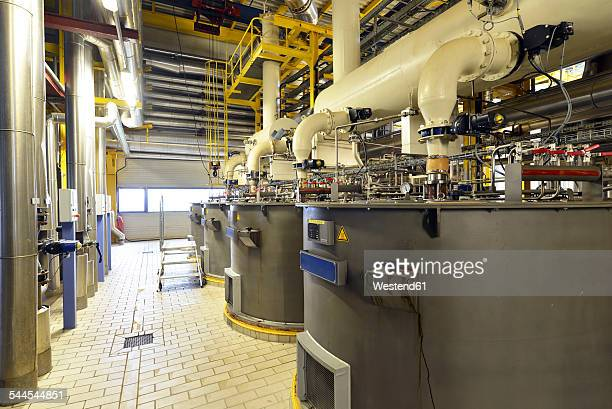 Centrifuges in a sugar mill
