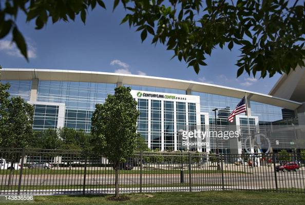 Centurylink Center venue for the Berkshire Hathaway Inc annual shareholders meeting stands in Omaha Nebraska US on Friday May 4 2012 Berkshire...