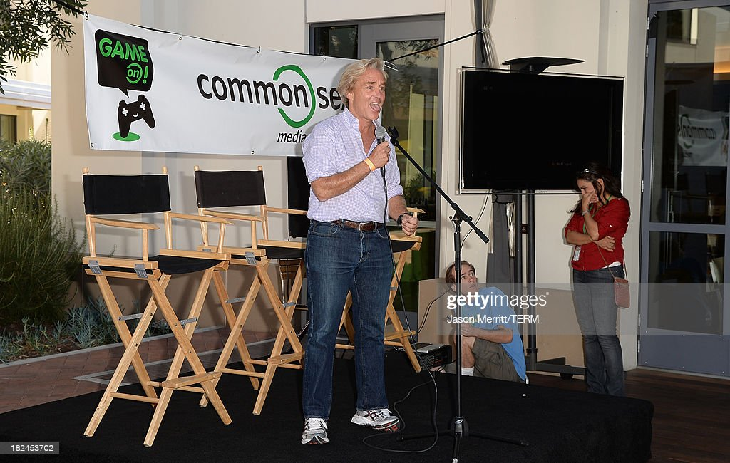 Ceo Common Sense Media Jim Steyer attends the 2nd Annual GameOn! fundraiser hosted by Common Sense Media at Sony Pictures Studios on September 29, 2013 in Culver City, California.