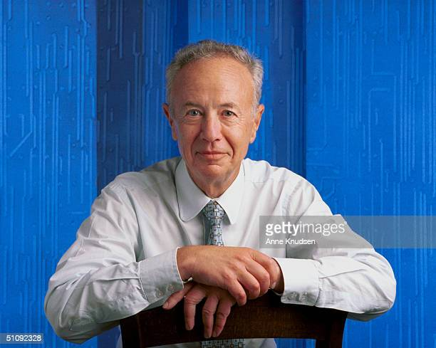 Ceo Of The Intel Corporation Andy Grove Poses For A Portrait June 2000 In Palo Alto California Intel Is A Leading Designer And Manufacturer Of...