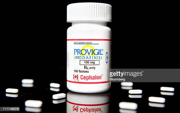 Cephalon Inc's Provigil used to treat excessive sleepiness caused by narcolepsy is arranged for photograph at a pharmacy in New York US on Wednesday...