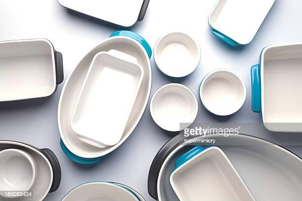 Ceramic bakewares